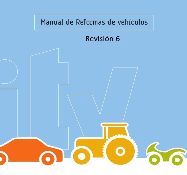 mrv6 1 6ª Revisión del Manual de Reformas de Vehículos